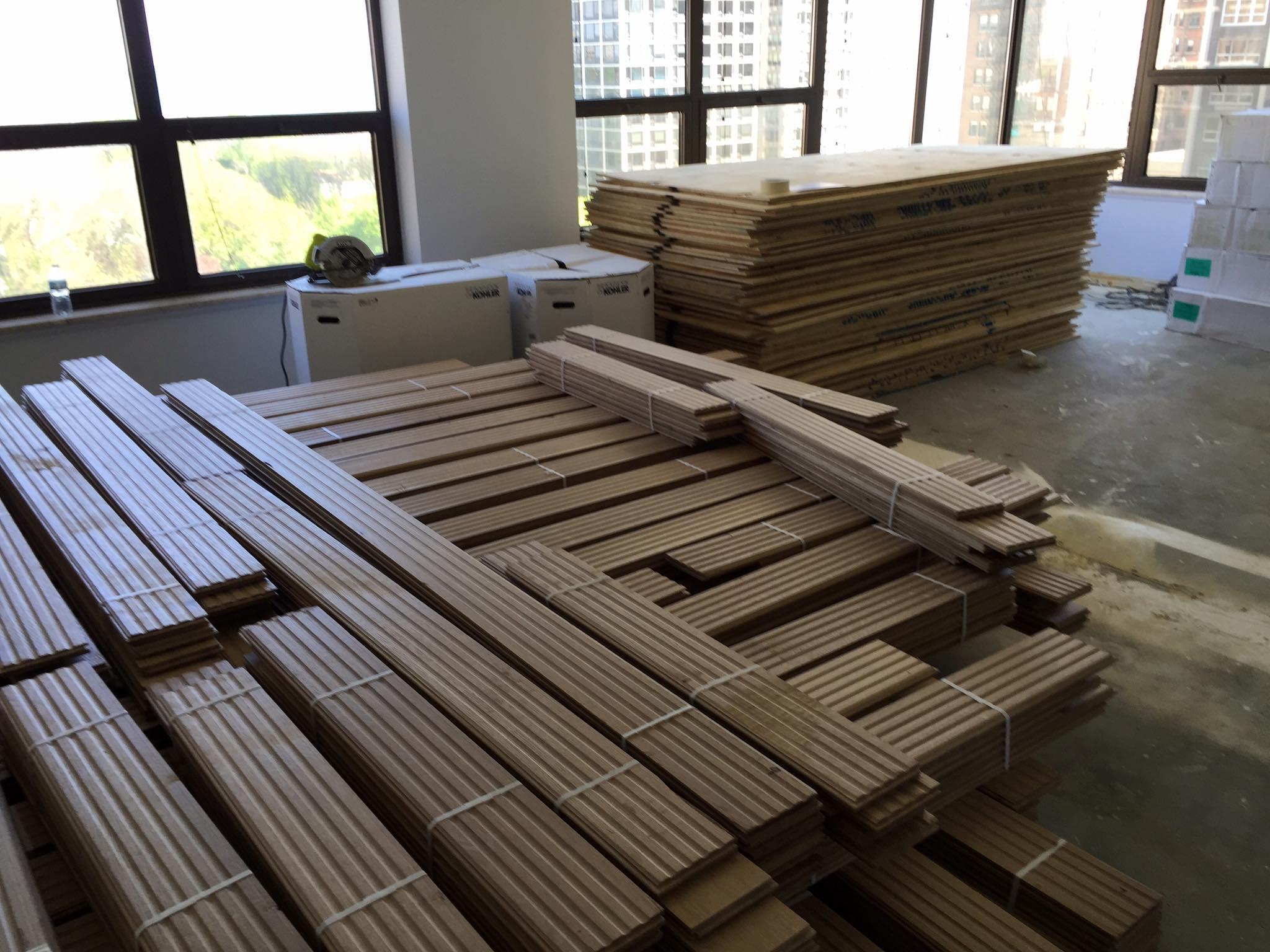 Chicago installation hardwood floors white oak tom for Flooring chicago