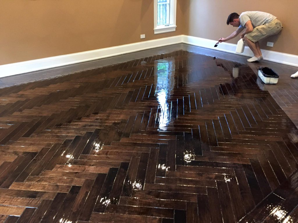 Custom Wood Floors In Skokie Illinois Tom Amp Peter