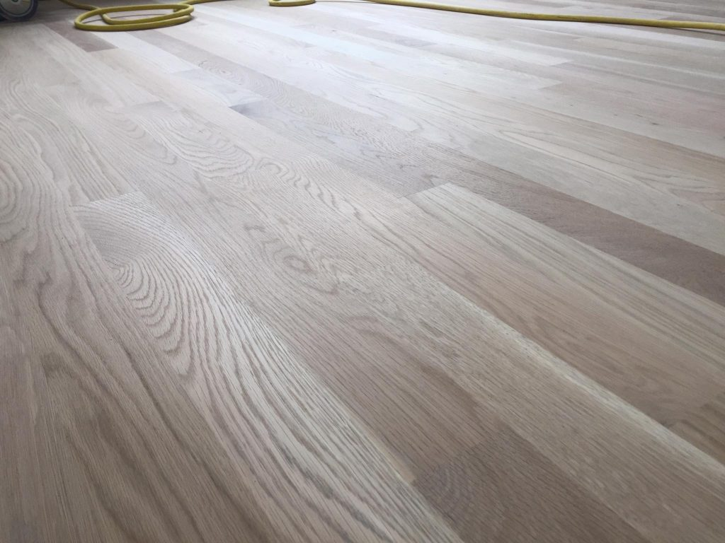 Solid white oak 3 1 4 hardwood floor installation chicago for Real oak hardwood flooring