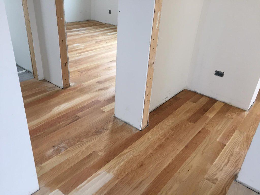 Solid White Oak 3 1 4 Hardwood Floor Installation Chicago