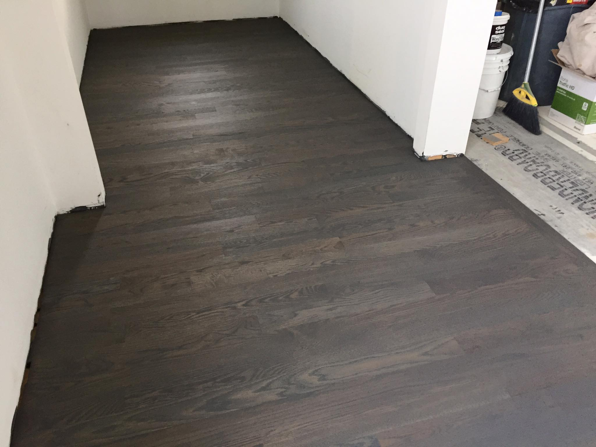 Solid White Oak 3 1 4 Quot Hardwood Floor Installation Chicago