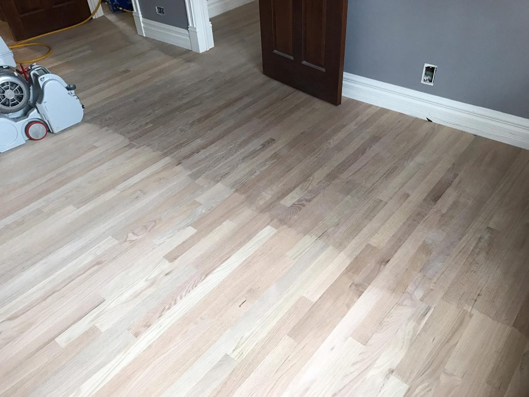 Hinsdale Installation New Hardwood Floor 2 1 4 Quot Red Oak
