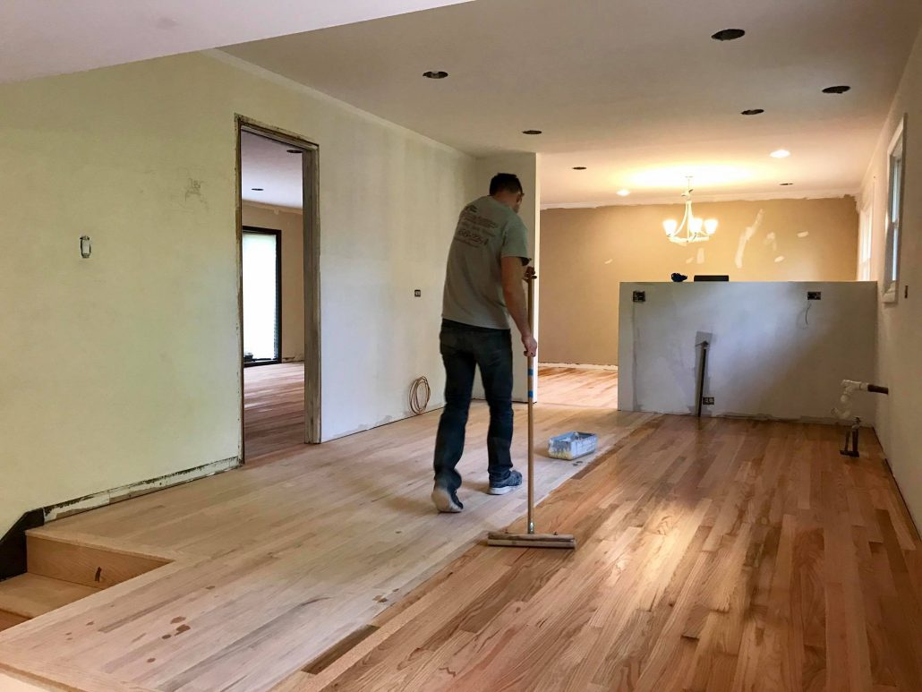 Elk Grove Village Refinishing Hardwood Flooring Tom