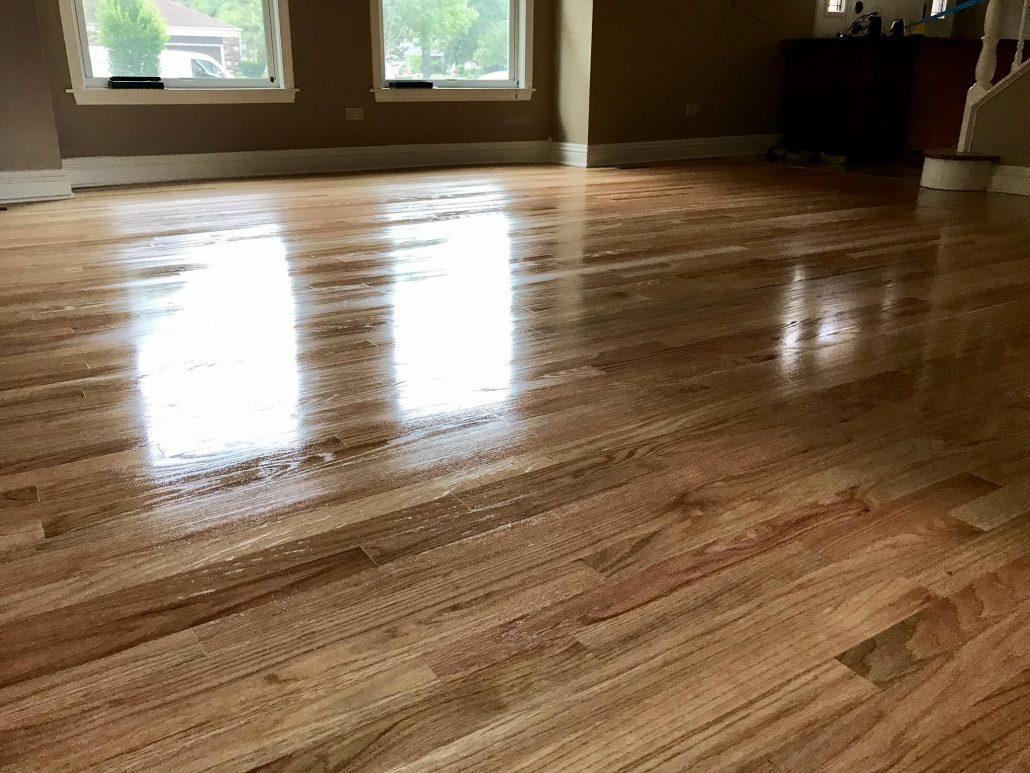 Schamburg refinishing hardwood floor red oak maple 2 1 for Flooring chicago
