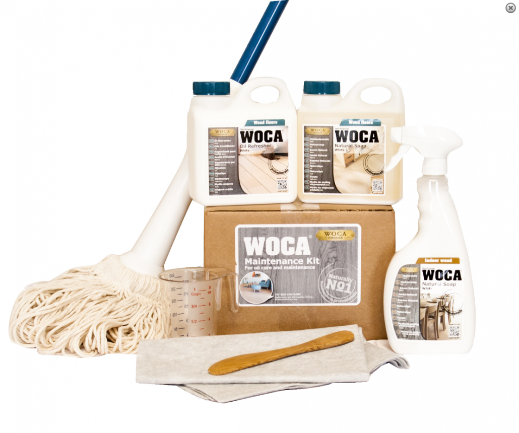 Cleaning Oil Finished Hardwood Floors With Woca Tom