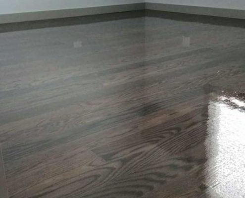 Brown And Gray Floor Stain By Bona Chicago Tom Amp Peter Flooring