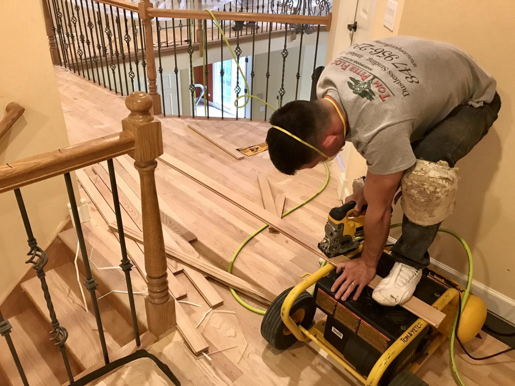 North Barrington Install Hardwood Floor Red Oak And