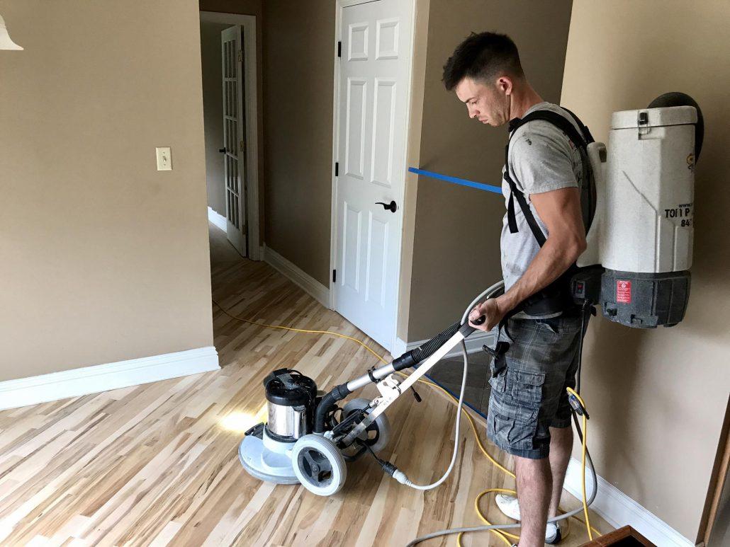 Schamburg Refinishing Hardwood Floor Red Oak Amp Maple 2 1