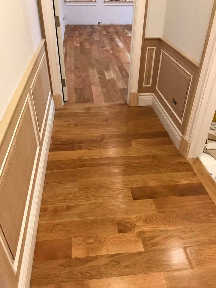 Oak Brook Sanding Hardwood Floor White Oak 5 Quot Tom
