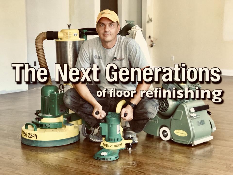 Hardwood floor installation and refinishing services