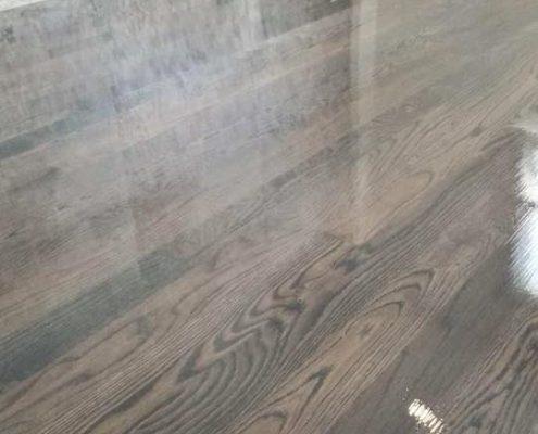 brown  gray floor stain  bona chicago tom peter flooring hardwood floor refinishing