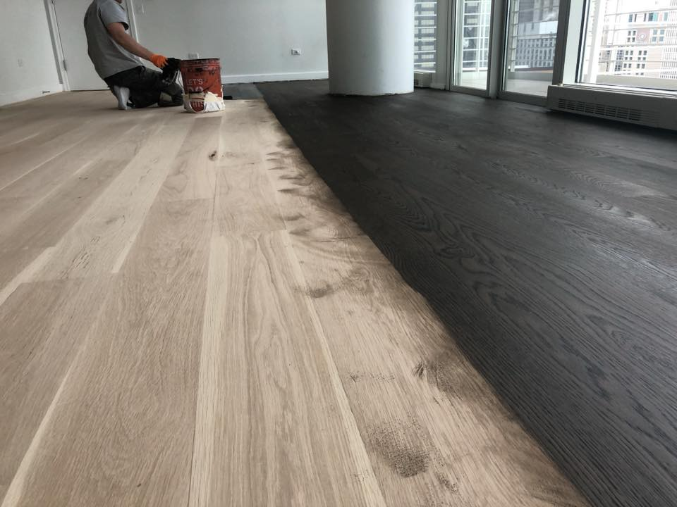 Sanding Hardwood Floor In Chicago Tom Amp Peter Flooring