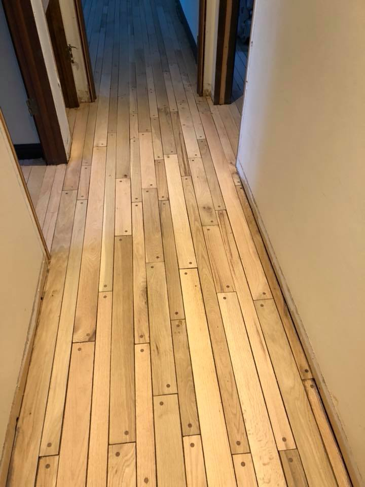 Refinishing Oak Pegged Hardwood Floor In Medinah Tom