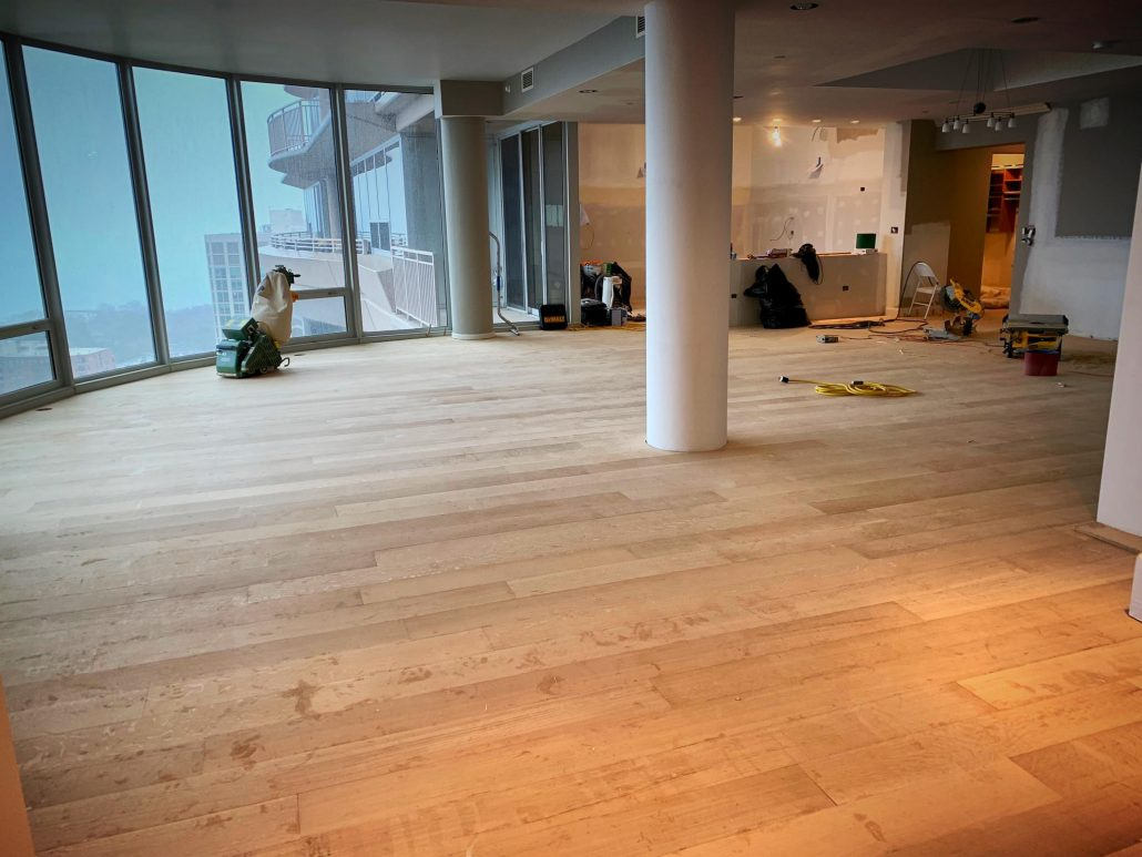 Engineering Hardwood Flooring Installation In Evanston Tom Amp Peter Flooring